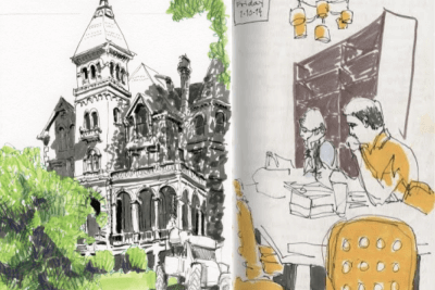 Aug 11 – 25: Sketching Class with Elizabeth Alley