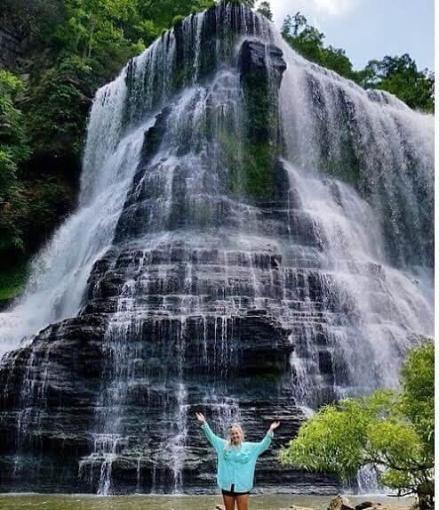 8 Hikes with Waterfalls Near Nashville, TN: Burgess Falls is a beautiful waterfall in Sparta, TN