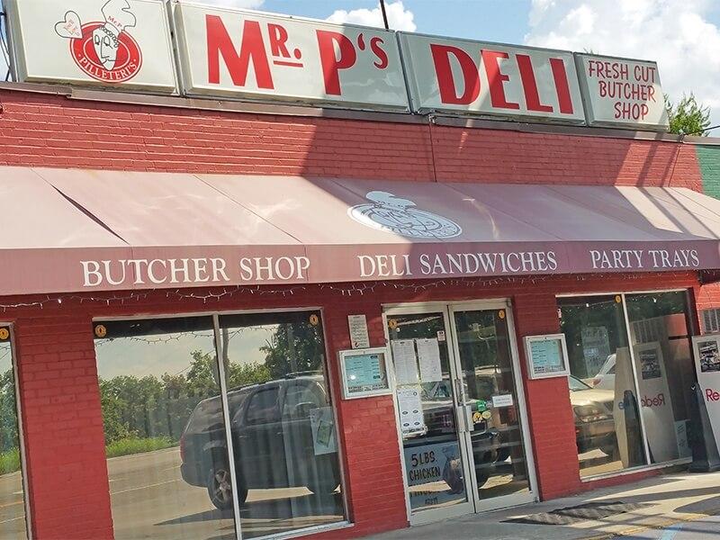 Mr. P's Deli in Bluff Park in Hoover, AL