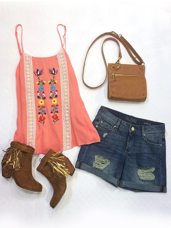 Check out this cute festival gear from Stacey Rhodes!
