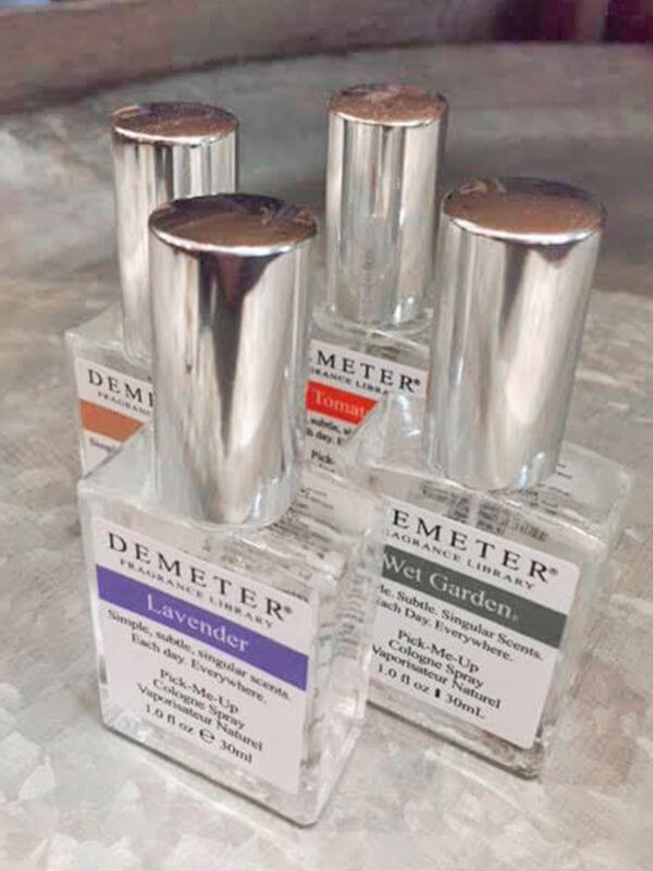 Demeter fragrances, $20 at Yarrow Acres