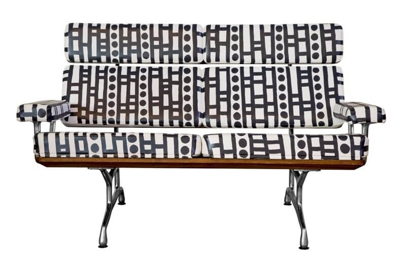 Hand-painted sofa | Image credit: Edelman Leather