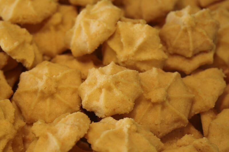 The cheese crisps' unique round shape was a happy accident that only adds to the crispiness and bite-ice appeal of Merry Cheese Crisps.