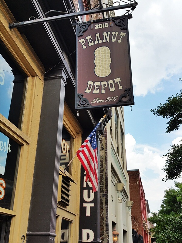 The Peanut Depot is one of the Magic City's oldest and most iconic businesses in downtown Birmingham.