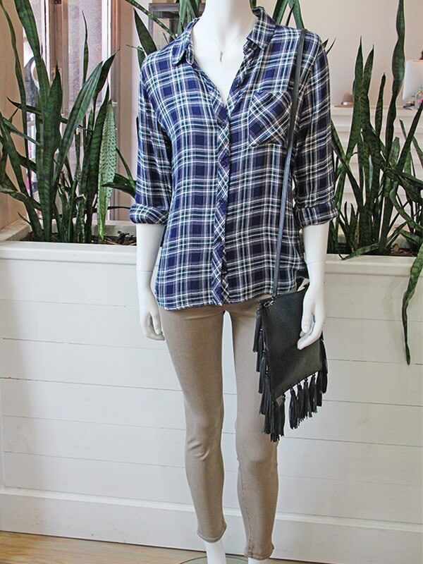 You can't go wrong this fall with a great flannel, fringe and denim!