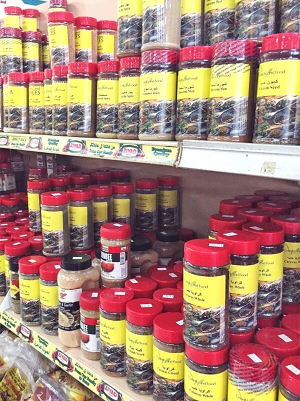 Spice things up at the Mediterranean Market.
