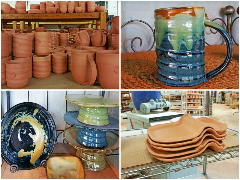 """The alchemy of the clay, glazes, and heat is just amazing... the transformation of materials is constantly awe-inspiring. I'll never lose the fascination of it all,"" says Earthborn Pottery founder and master potter, Tena Payne."