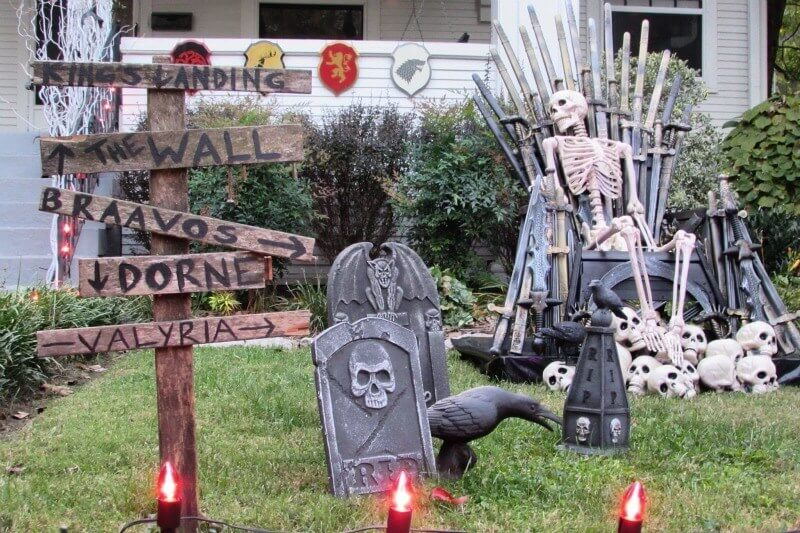The Hillcrest neighborhood always goes all out when it comes to decorating for Halloween. A walk, bike or drive down Hillcrest Ave. is a must-do this spooky season.