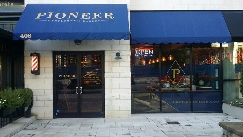 Pioneer Barbershop is now open in the Gulch