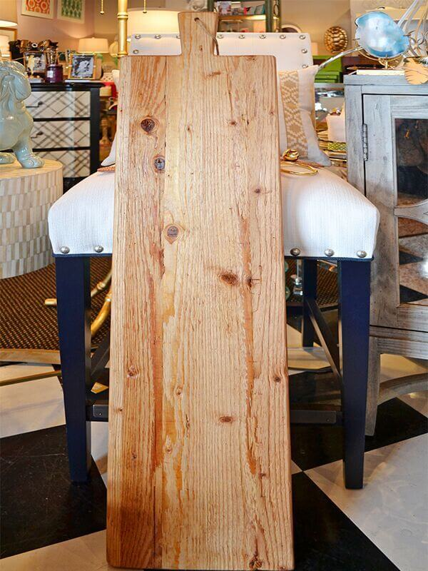 SB Louisville Finds: November 2015.Farmhouse plank at Fleur de Lis Interiors for $154.