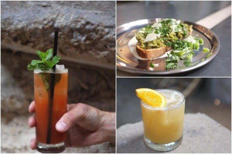 Eats and drinks aplenty at Old Glory in Edgehill Village!
