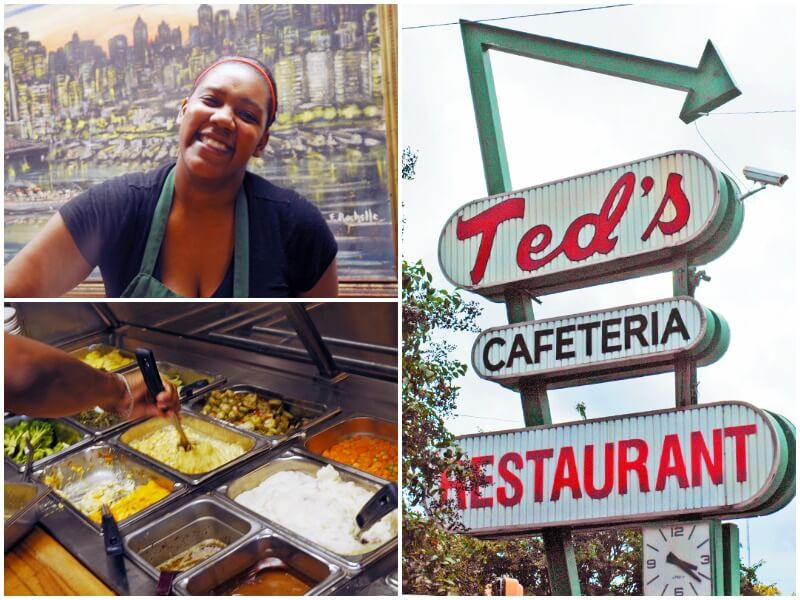 Ted's is a downtown favorite, where construction workers and attorneys rub elbows with academics and grandmas.