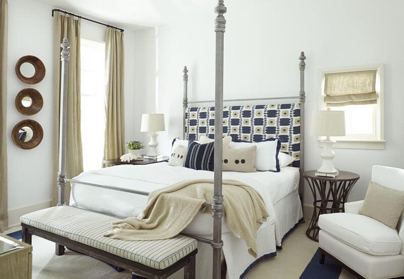 A gracious guest room is far more involved than welcoming decor. This room is GORGEOUS, but having the 10 items below in your guest room will actually makes guests feel more welcome than a beautiful room!