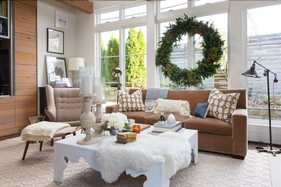 This is the perfect space to spend Christmas morning watching the kids tear into their gifts.