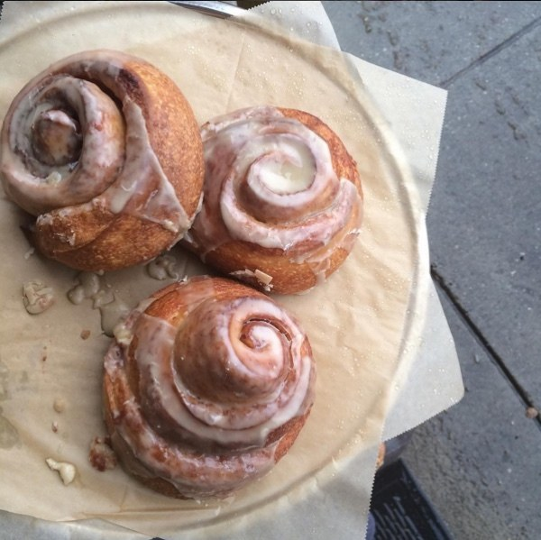 Swamp Rabbit Cinnamon Rolls