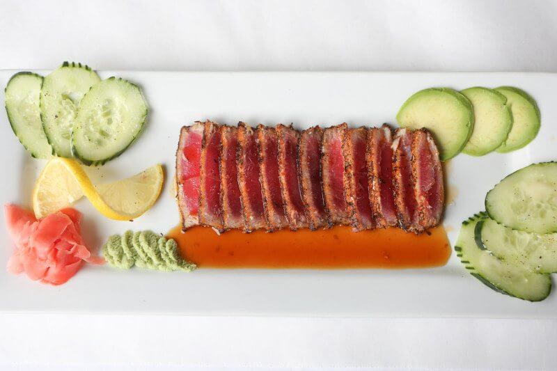 Fresh and fabulous tuna from Mere Bulles