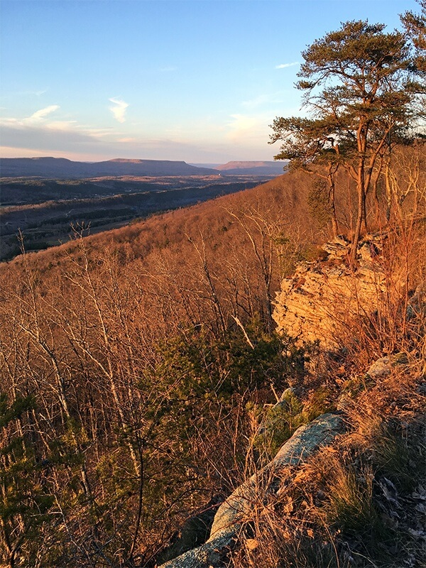 A mountaintop view | Image: Ann Chambliss