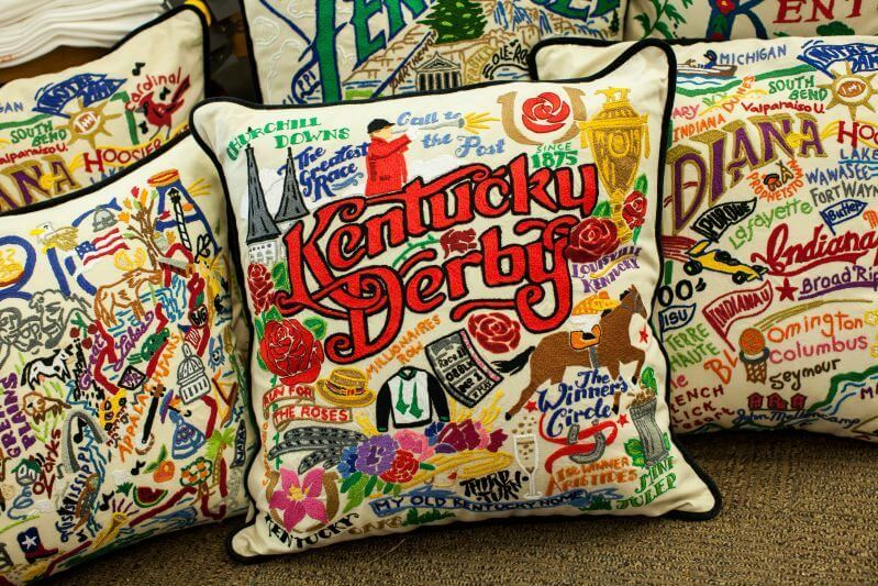 State Pillows from Hallmark are well done and very memorable