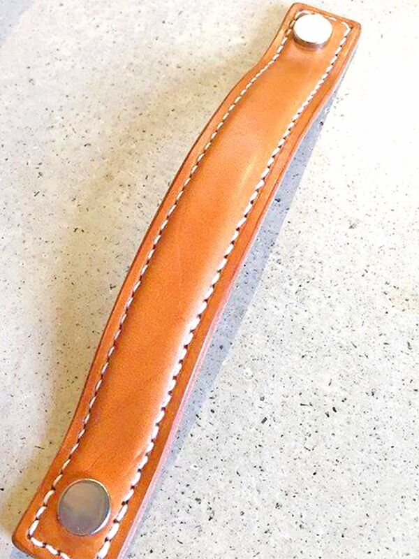 Turnstiles leather pull from England
