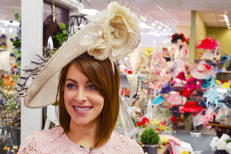 How to make your own fascinator: click here for details.