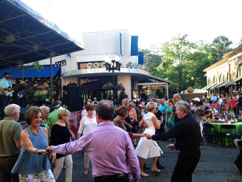 Brookwood Live! was a success on May 20. Image: Brookwood Village Facebook