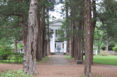 Rowan Oak, William Faulkner's home in Oxford.