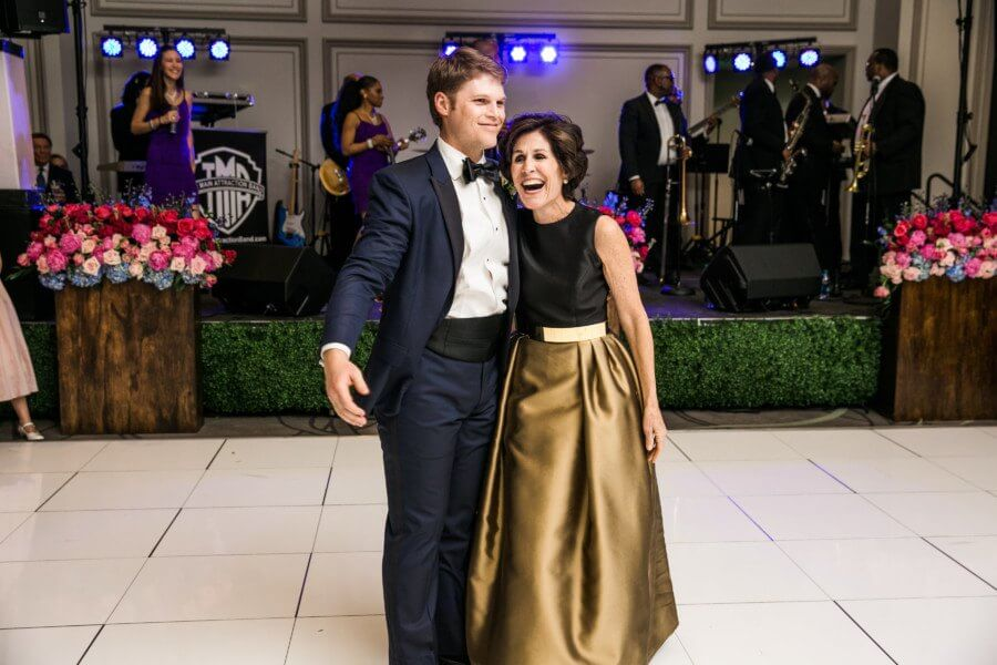 This mother of the groom knows how to enjoy her son's happy day! Image: 509 Photo