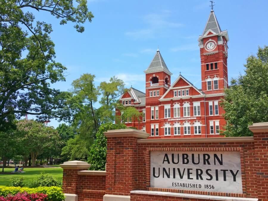 Samford Hall is Auburn University's most iconic building.
