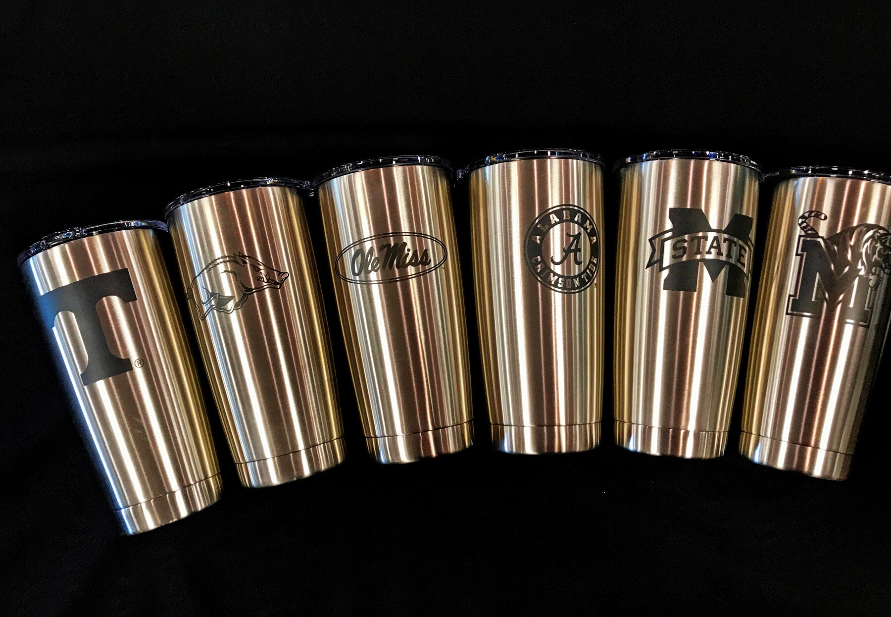 SEC Yeti tumblers, $39.99, at Buster's Liquors and Wines
