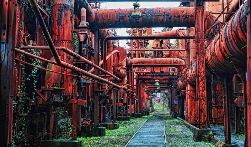 Haunted places in Alabama: Sloss Furnaces