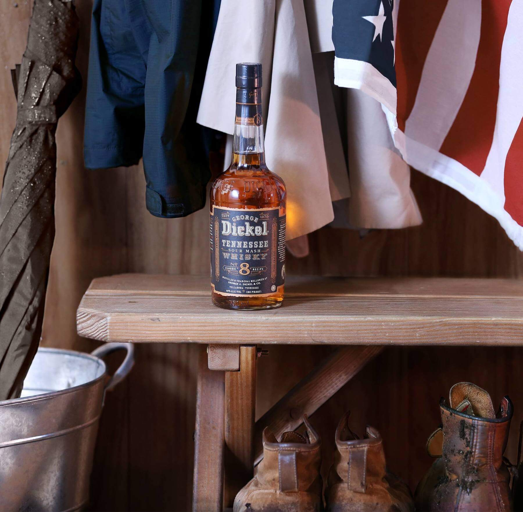 Visit one of the many the many Tennessee distilleries — including George Dickel.