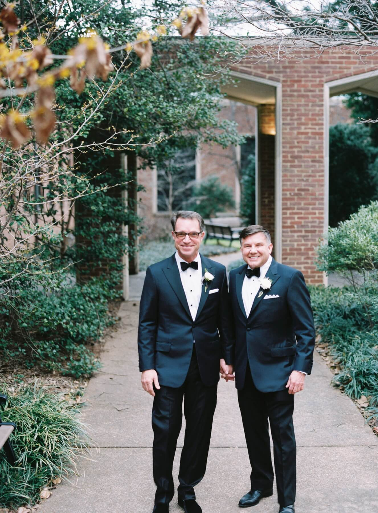 Hal Cato and Michael Burcham's wedding was one for the books.