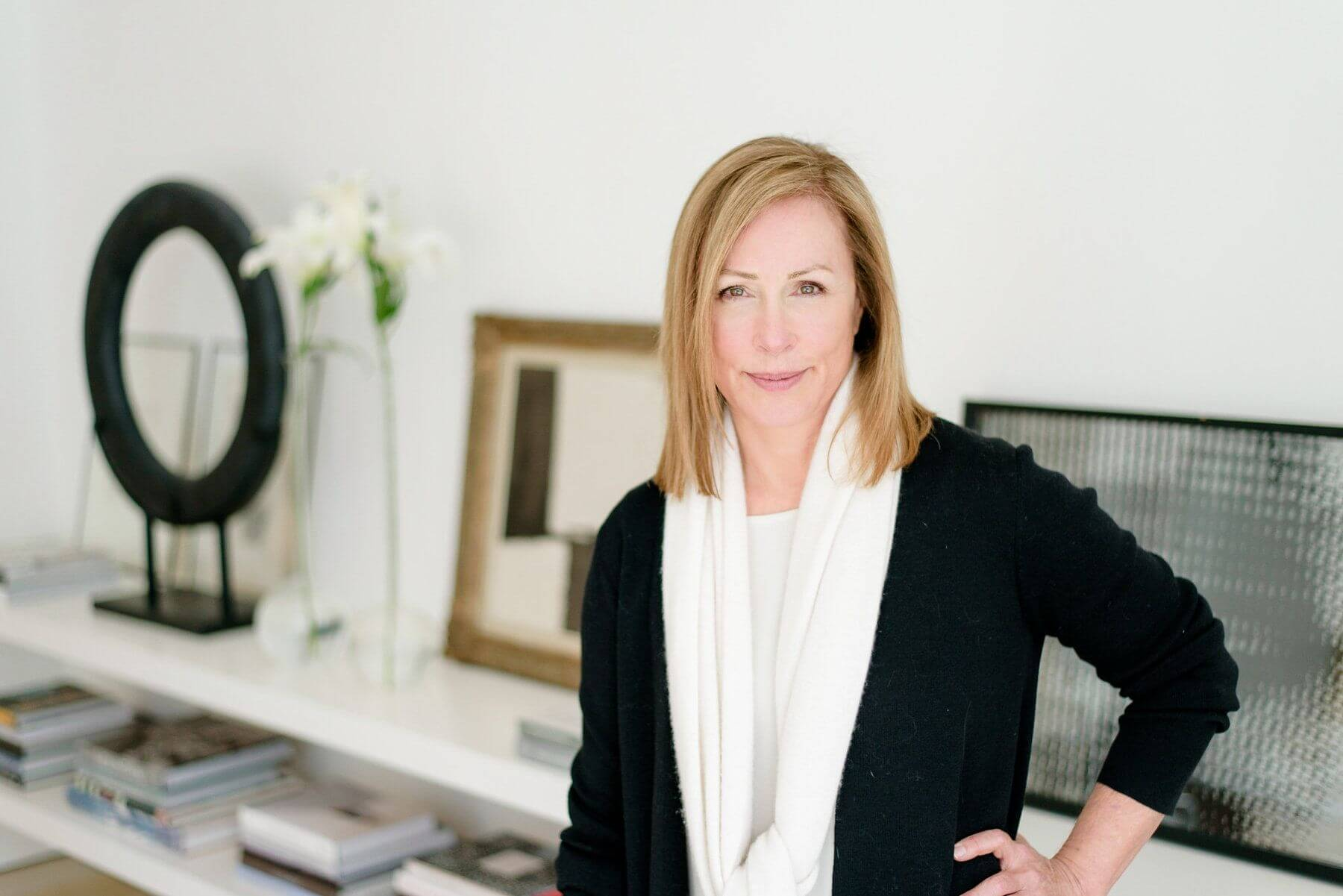 Interior designer Betsy Brown of Betsy Brown Inc.   Image: Eric & Jamie Photography