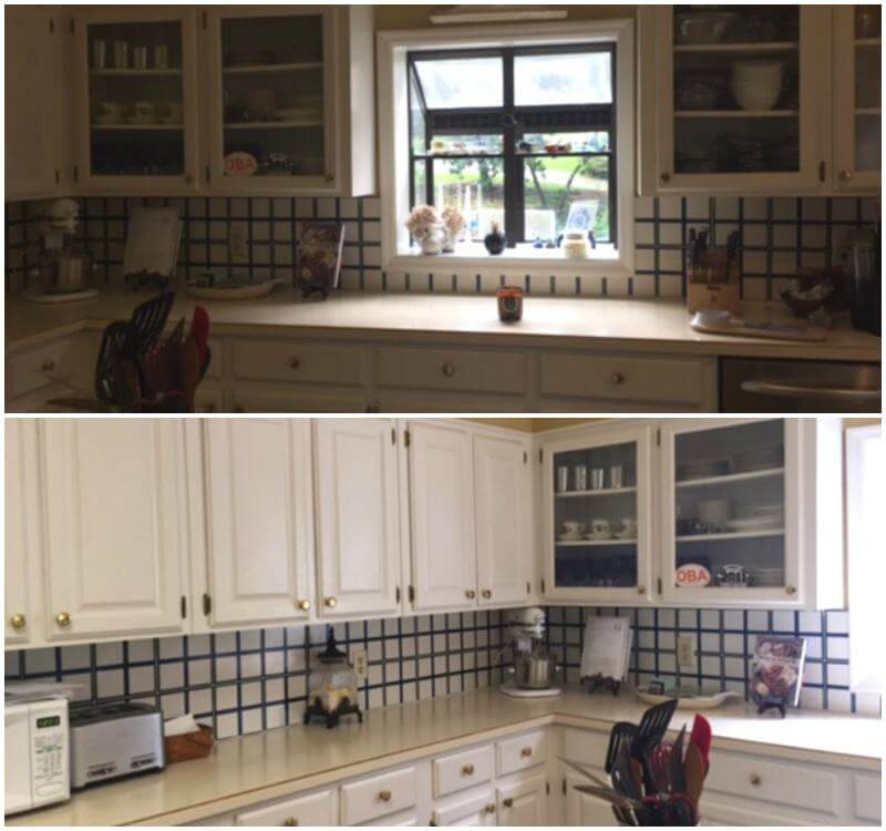You have to see the before pictures to realize just how fabulous this kitchen has become.
