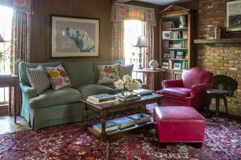 Gwen Driscoll family room
