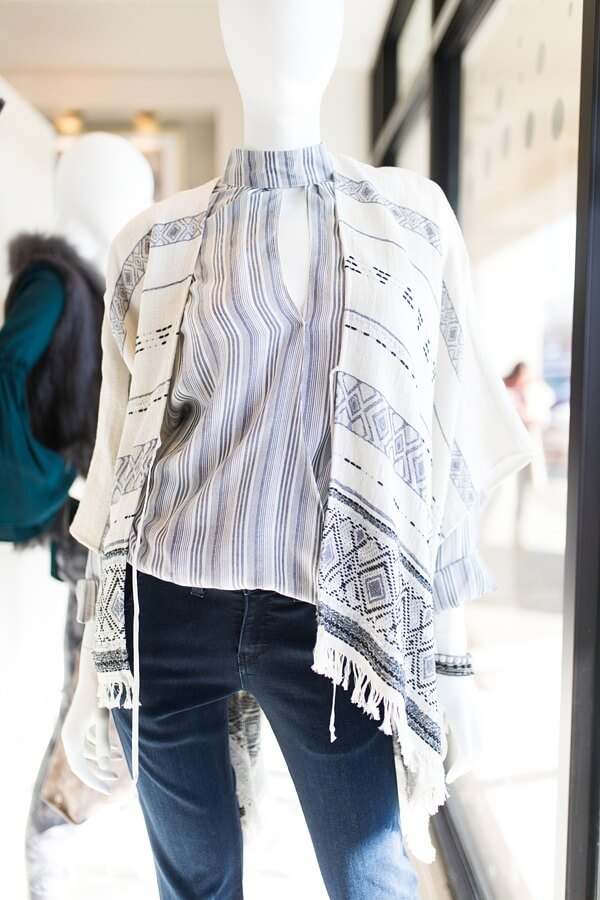 This poncho from Gus Mayer is to die for!