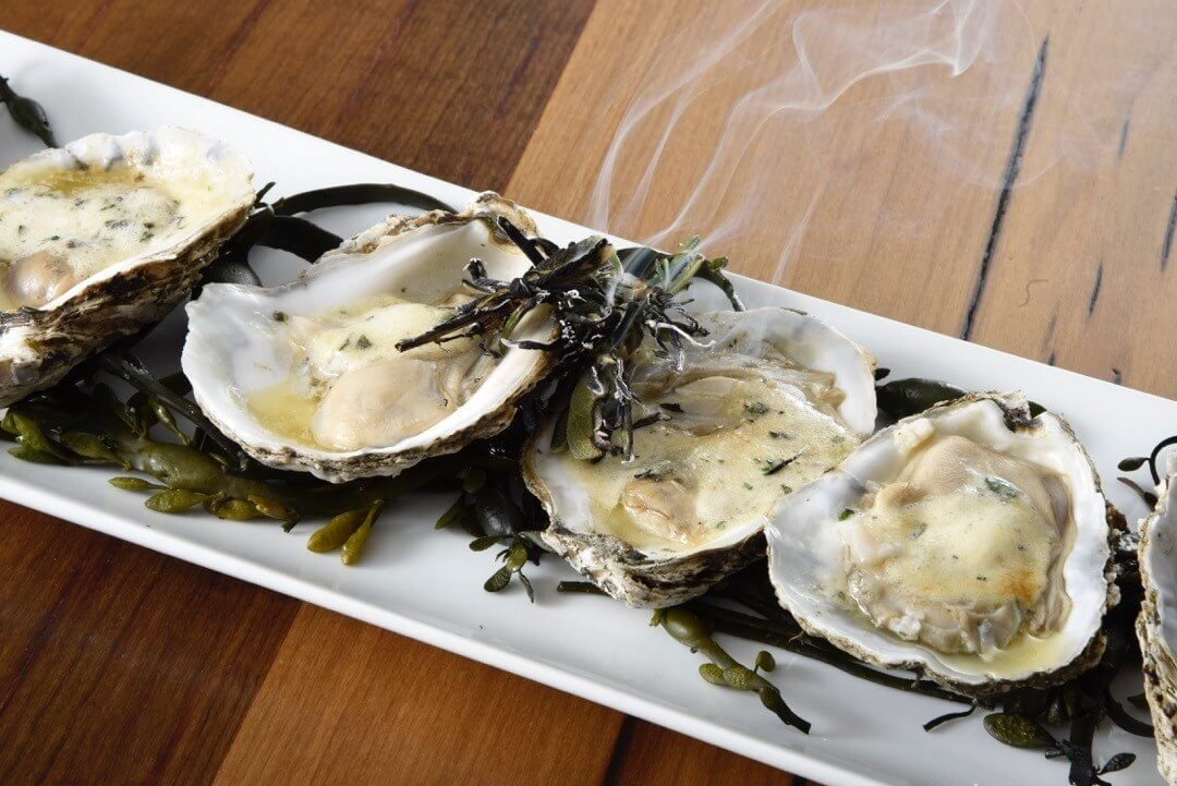 Roasted Oysters from River House