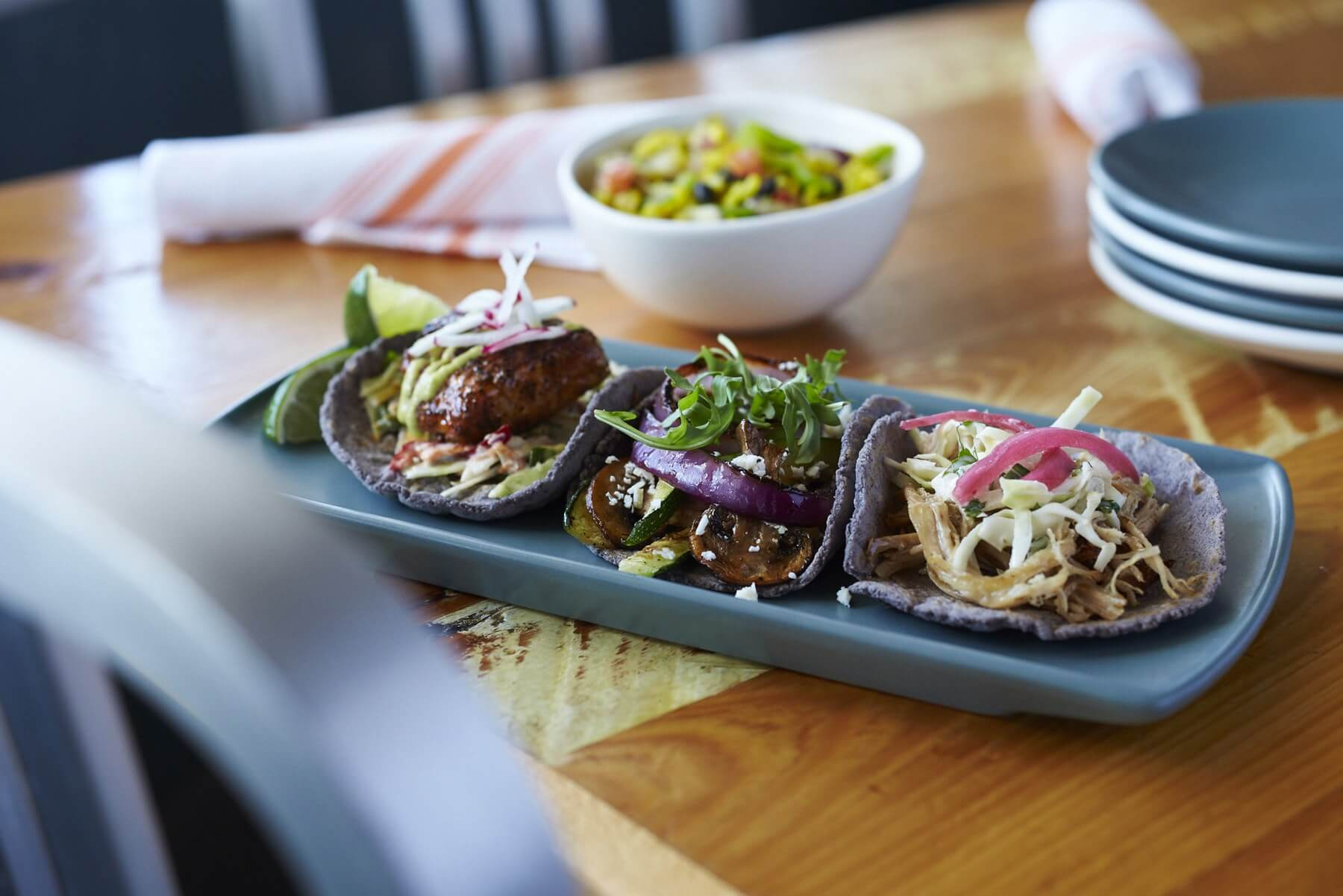 Babalu's tacos are perfect for sharing. Image: Babalu Tapas & Tacos