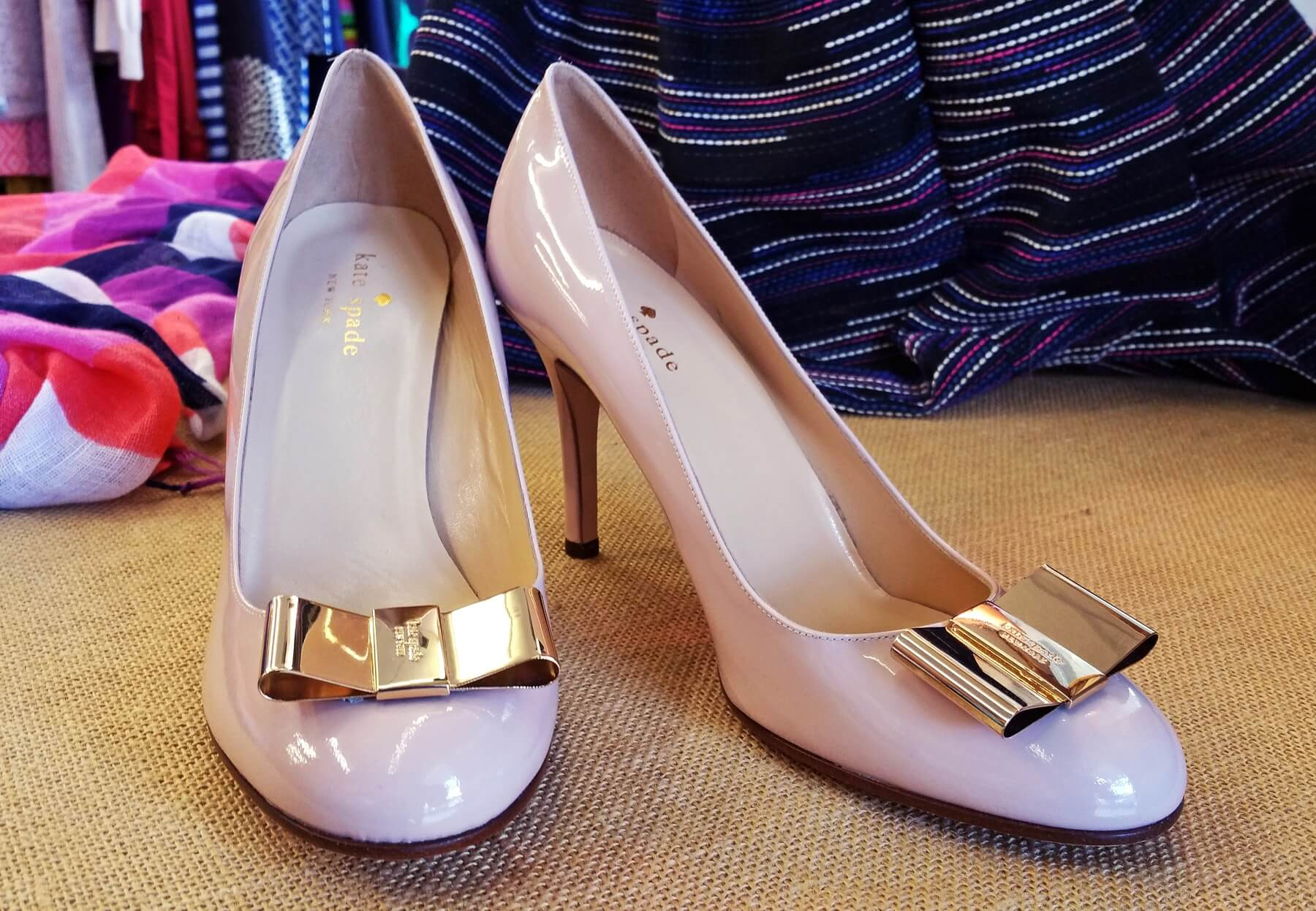 Kate Spade pumps, $55.50, at Second Hand Rose