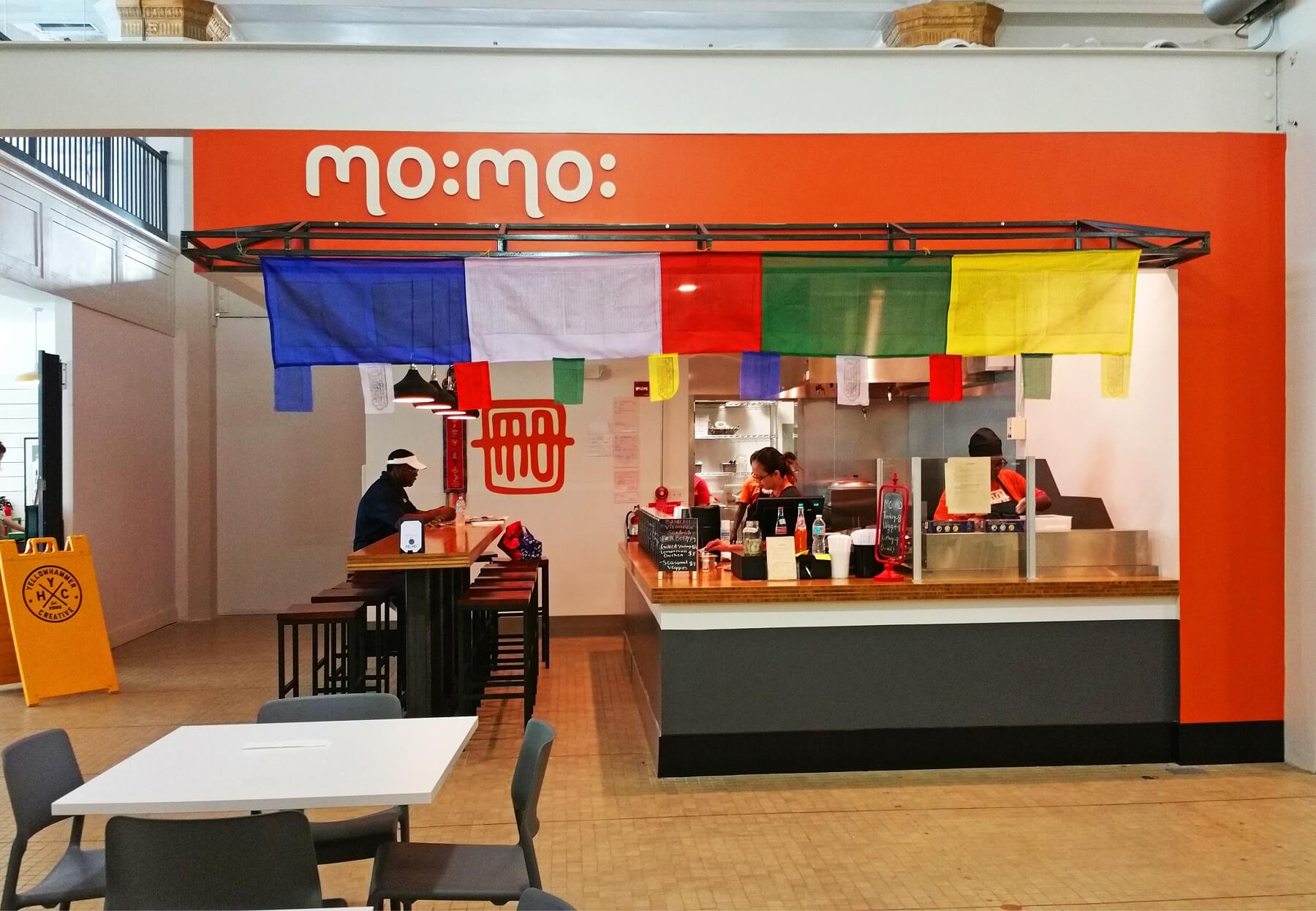 MO:MO: serves a simple yet tantalizing menu of Momos,or Nepalese dumplings, and Banh mi, or Vietnamese sandwiches.