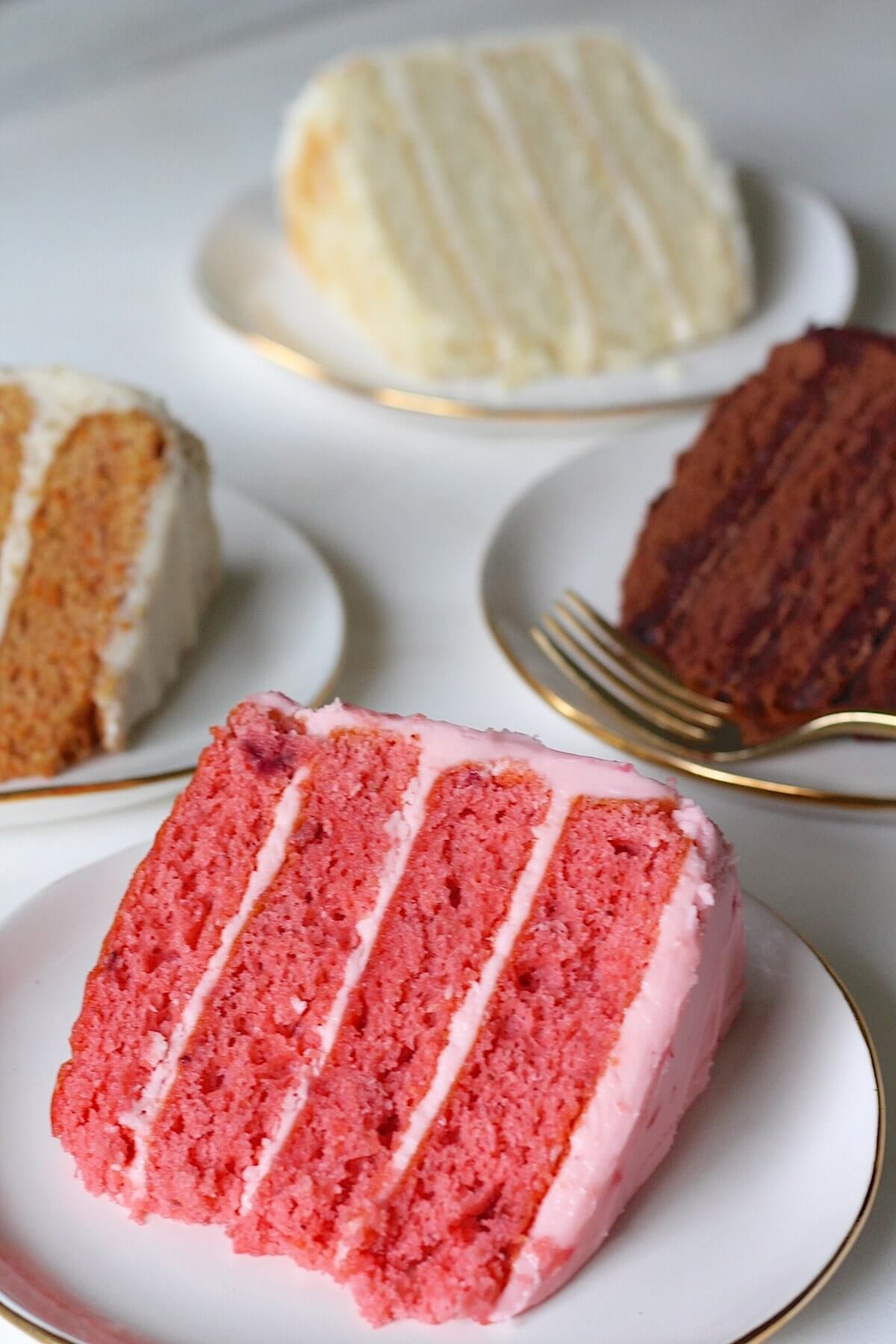 Delicious cake options from Ashley Mac's