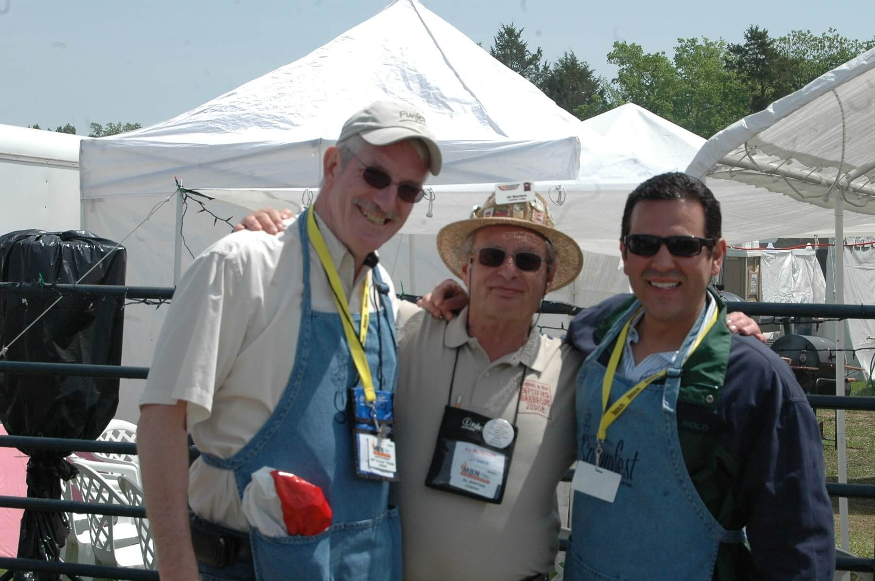 """Why be a WCBCC judge? Obviously the barbecue, but Ron Childers, an 18-year judge, offers another reason. """"One of the unknown benefits of being a judge is becoming a member of an incredibly wonderful group of people."""""""