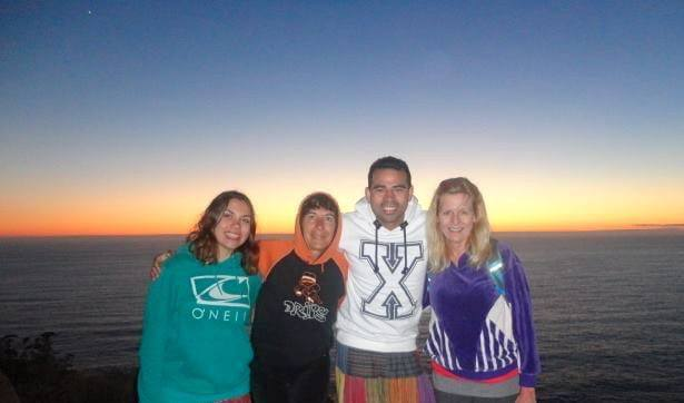 Sunset in the Cies Islands