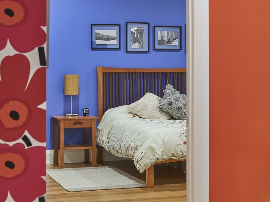 Bold Colors and Mexican Influences Make This Home One Of A Kind!