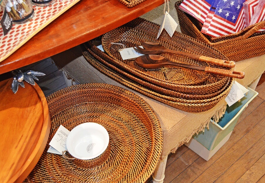 These casual serving pieces are perfect for warm weather get-togethers.