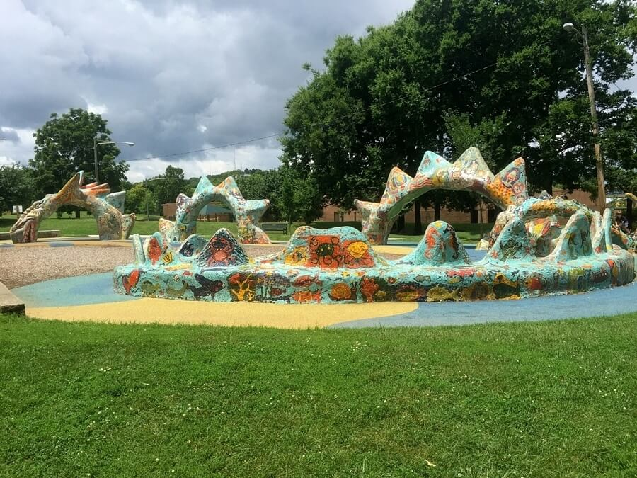 Best playgrounds in nashville: Dragon Park — Fannie Mae Dees Park