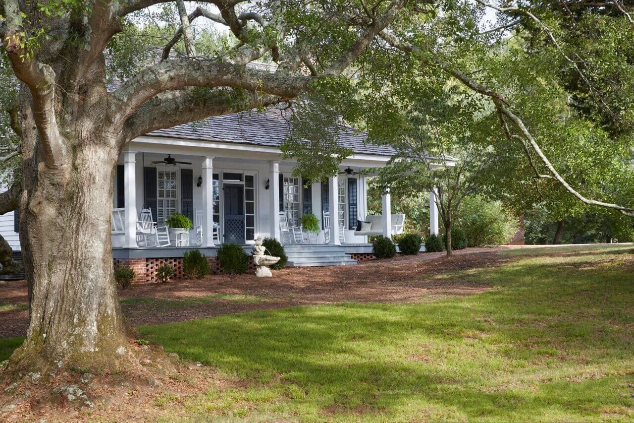 The Spring House on Pursell Farms, one of the most picturesque hotels in Birmingham AL