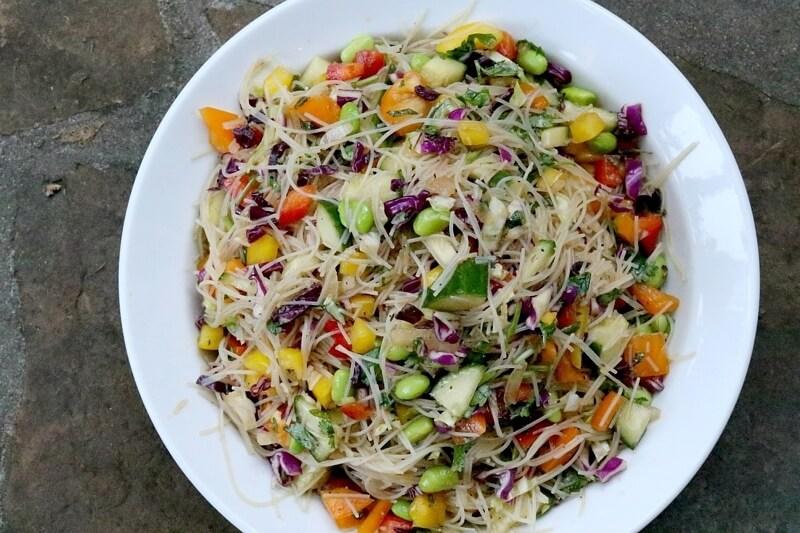 Recipe: Spring Roll Salad — Fresh, Light & Tasty
