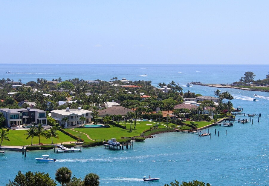 A quiet South Florida escape awaits in the breathtaking town of Jupiter, Florida.