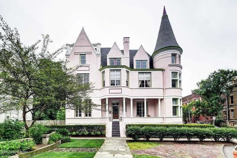 The Pink Palace in Louisville Kentucky